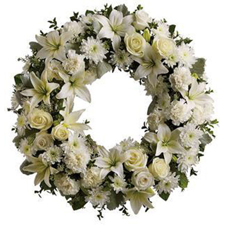 WREATH (HEARTFELT)