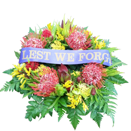 Native ANZAC  Wreath